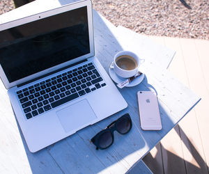 coffee, iphone6, and kenza zouiten image