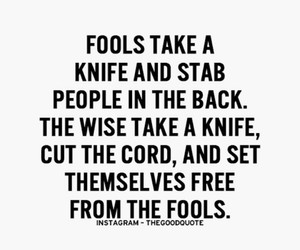 fools and quote image