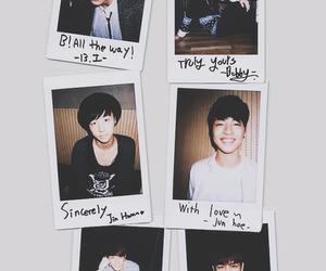 team b, jinhwan, and donghyuk image