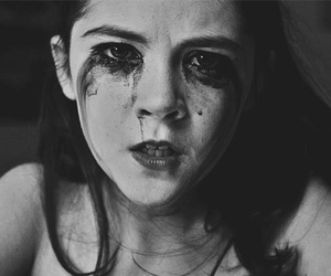 orphan, horror, and black and white image