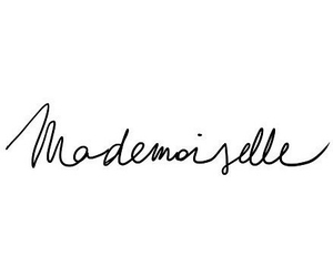 Mademoiselle, french, and quotes image