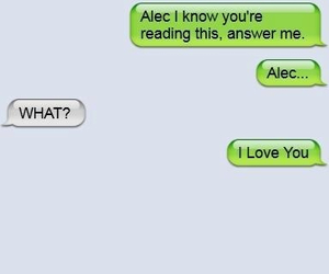 answer, funny, and alec lightwood image