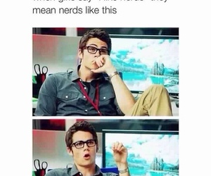 dylan o'brien and nerd image