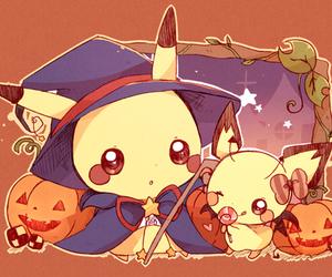Halloween, pikachu, and pokemon image