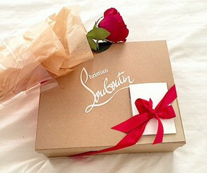 rose, love, and louboutin image