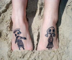 tattoo and tim burton image