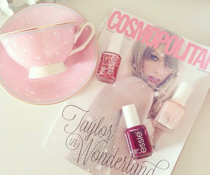 cosmopolitan, pink, and Taylor Swift image
