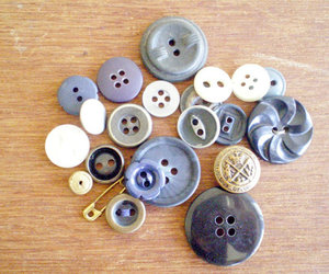 buttons, collection, and etsy image