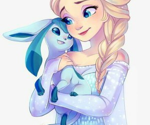 pokemon, elsa, and frozen image