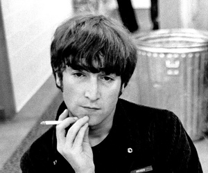 john lennon, the beatles, and 60s image