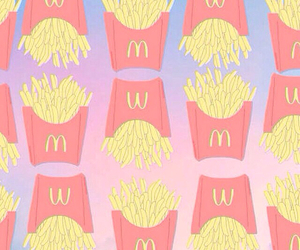 wallpaper, food, and McDonalds image