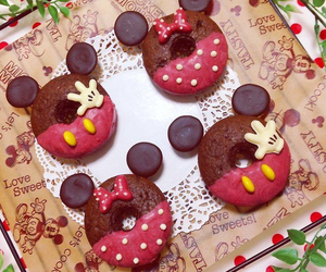 chocolate, donuts, and disney image