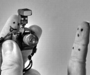 art, fingers, and photograph image
