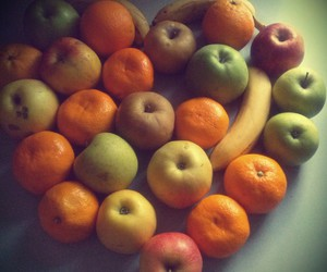 apples, health, and tangerines image