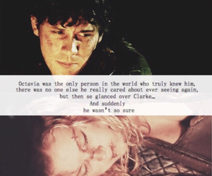 otp, the 100, and bellarke image