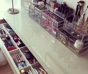 make up, makeup, and style image