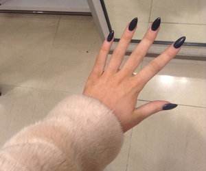 fashion, nails, and winter image