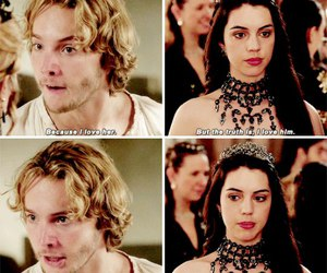 reign, mary stuart, and toby regbo image