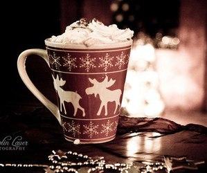 christmas, chocolate, and Hot image