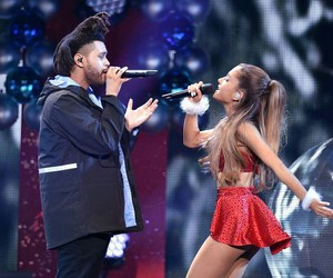 ariana grande and the weeknd image