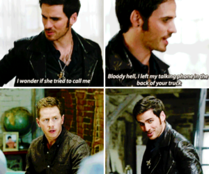 once upon a time, funny, and hook image