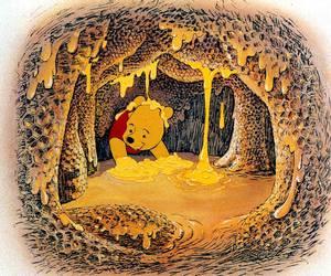 disney, winnie the pooh, and happy image