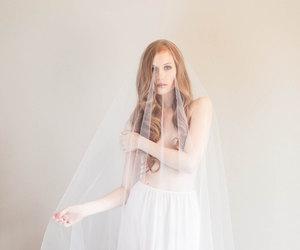 bride, photography, and wedding image