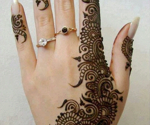 henna, design, and art image