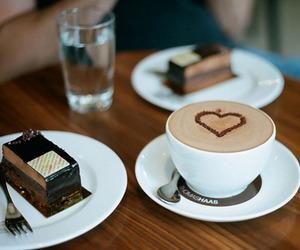 beige, cake, and cream image