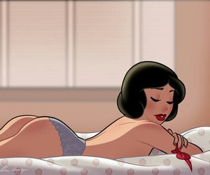 lingerie, Pin Up, and snowwhite image