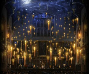 harry potter, hogwarts, and great hall image