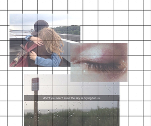 emotion, graph, and grid image