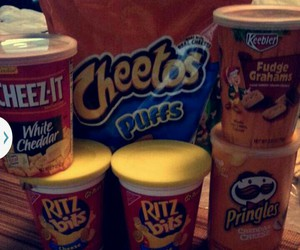Cheetos, chips, and college image
