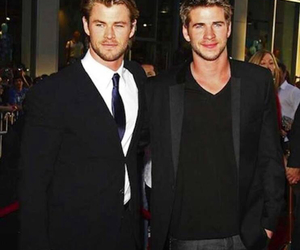 brothers, hemsworth, and liam hemsworth image