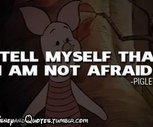piglet, disney, and quote image