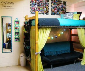 after, dorm, and girls image