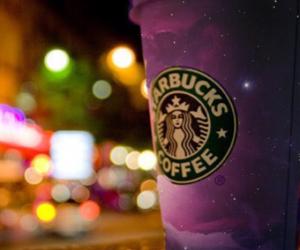 starbucks, light, and coffee image