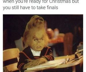christmas, funny, and school image