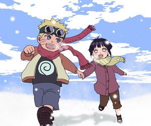 naruto, anime, and naruhina image