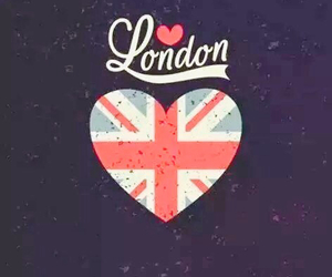 black, london, and heart image