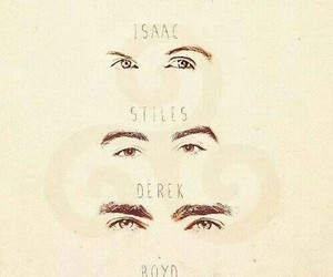 teen wolf, eyes, and boyd image