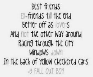 fall out boy, Lyrics, and FOB image