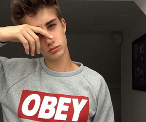 boy, tumblr, and obey image