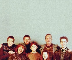 harry potter, weasley, and family image