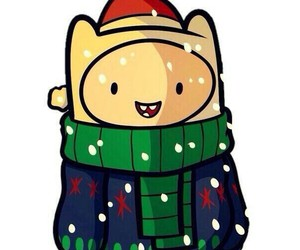 christmas, fin, and adventuretime image