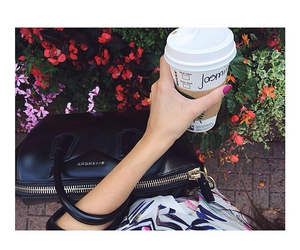 Givenchy, style, and starbucks image