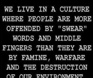 culture, quote, and middle fingers image