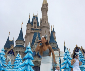 ariana grande, disney, and christmas image