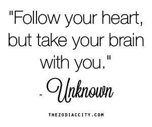 brain, heart, and follow image