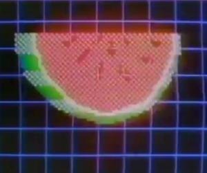 grid, retro, and pixel image
